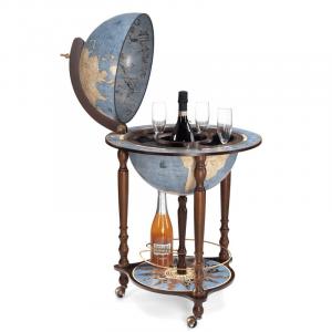 C'est un bar globe terrestre mini bar drinking bar liquor cabinet drinking bar en bois bleu