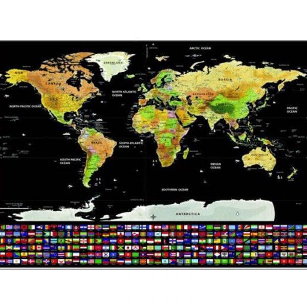 carte-du-monde-a-gratter-dorée-noir-verte4